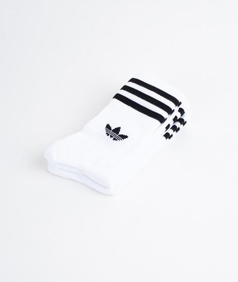 ADIDAS Mid Cut Crew Socken white