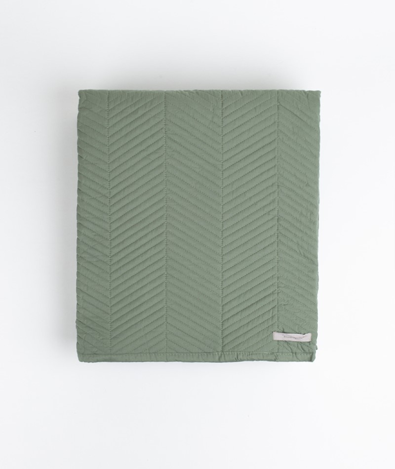 BLOOMINGVILLE Bedspread green