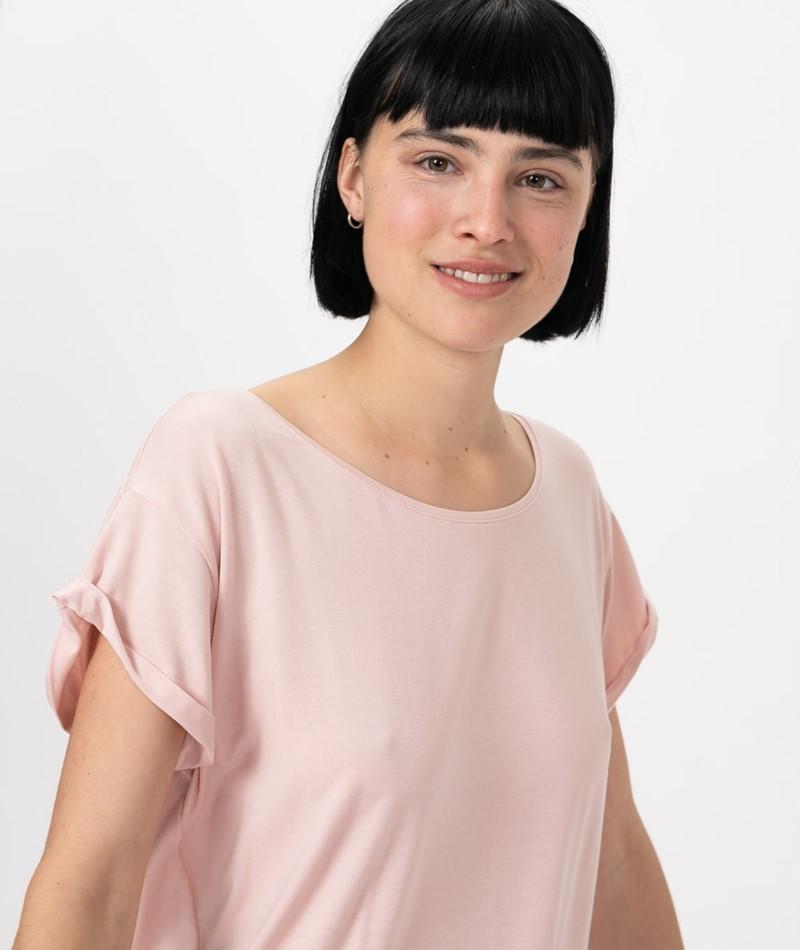 MBYM Nisha Basic T-Shirt rose smoke