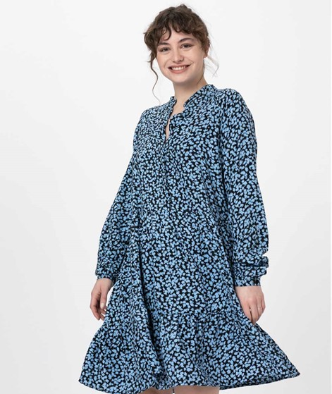 MBYM Marra Kleid mylie light blue print