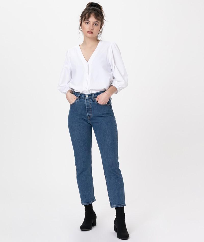 LEVIS 501 Crop Jeans jive stonewash