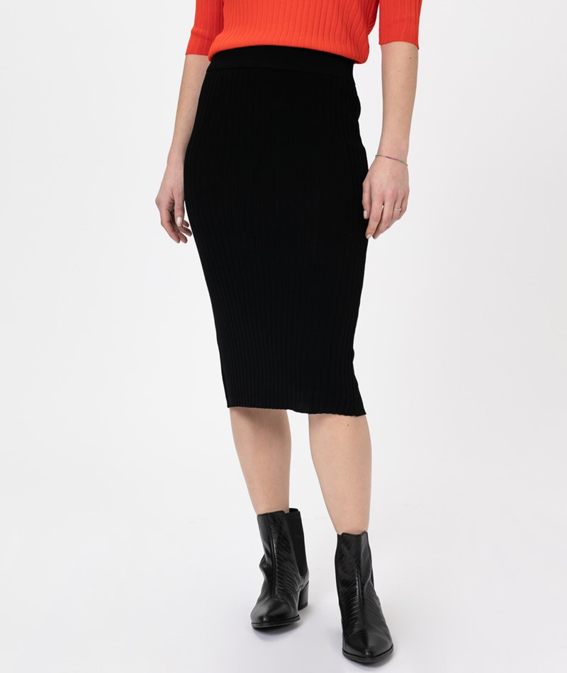 SELECTED FEMME SLFMarge HW Knit Rib Rock
