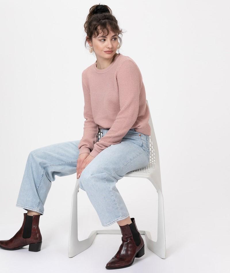 VILA VIChassa L/S Knit Pullover pale