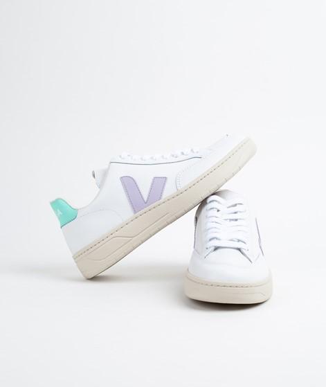 VEJA V-12 Sneaker extra white-parme