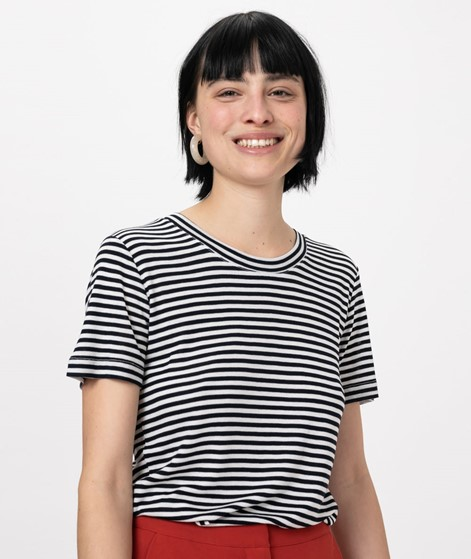 MBYM Samira Basic T-Shirt sugar stripe