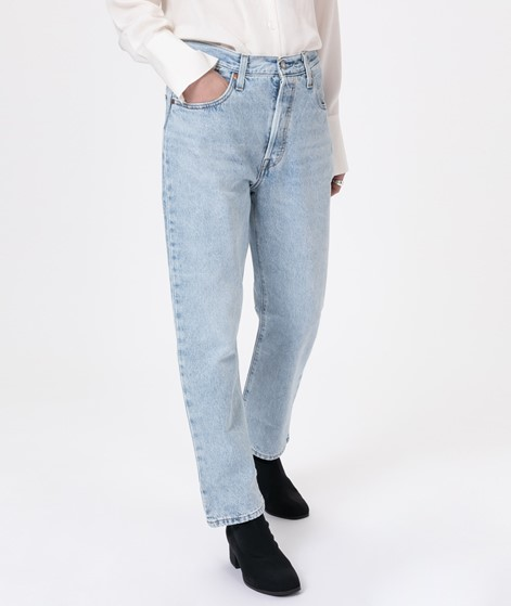 LEVIS 501 Crop Jeans mongomery baked