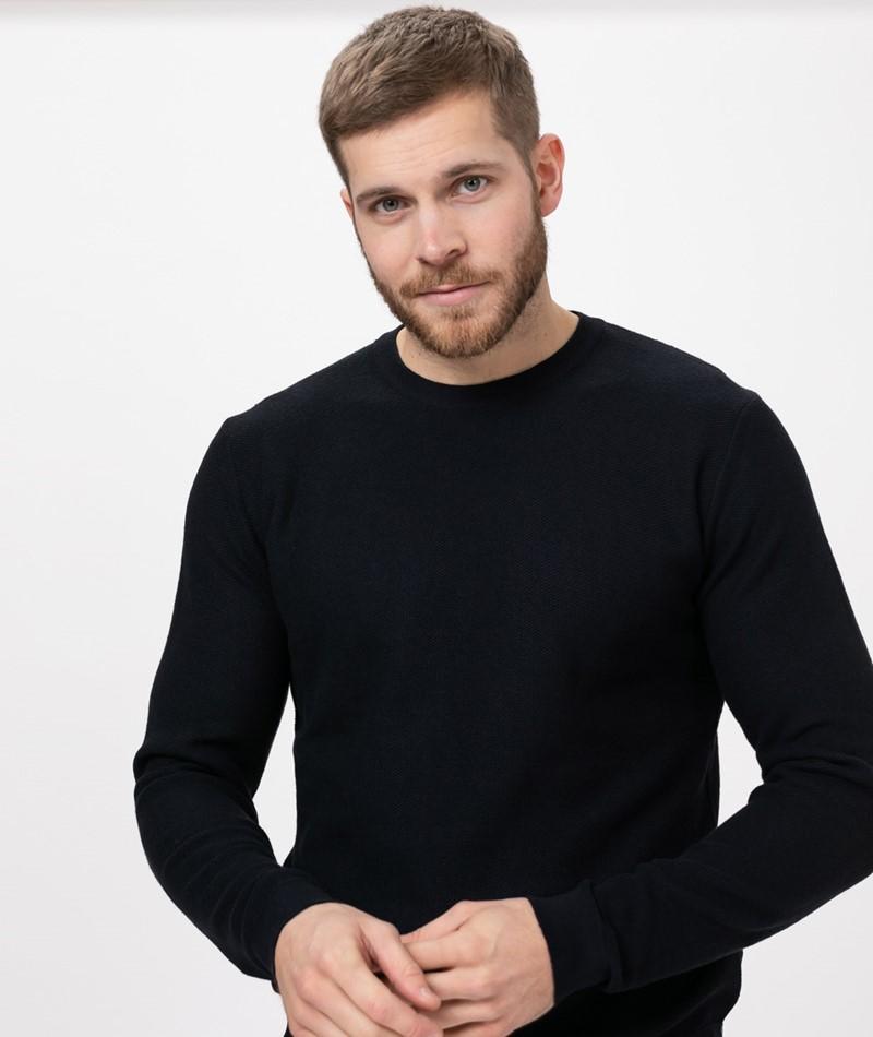 KAUF DICH GLÜCKLICH Pullover navy