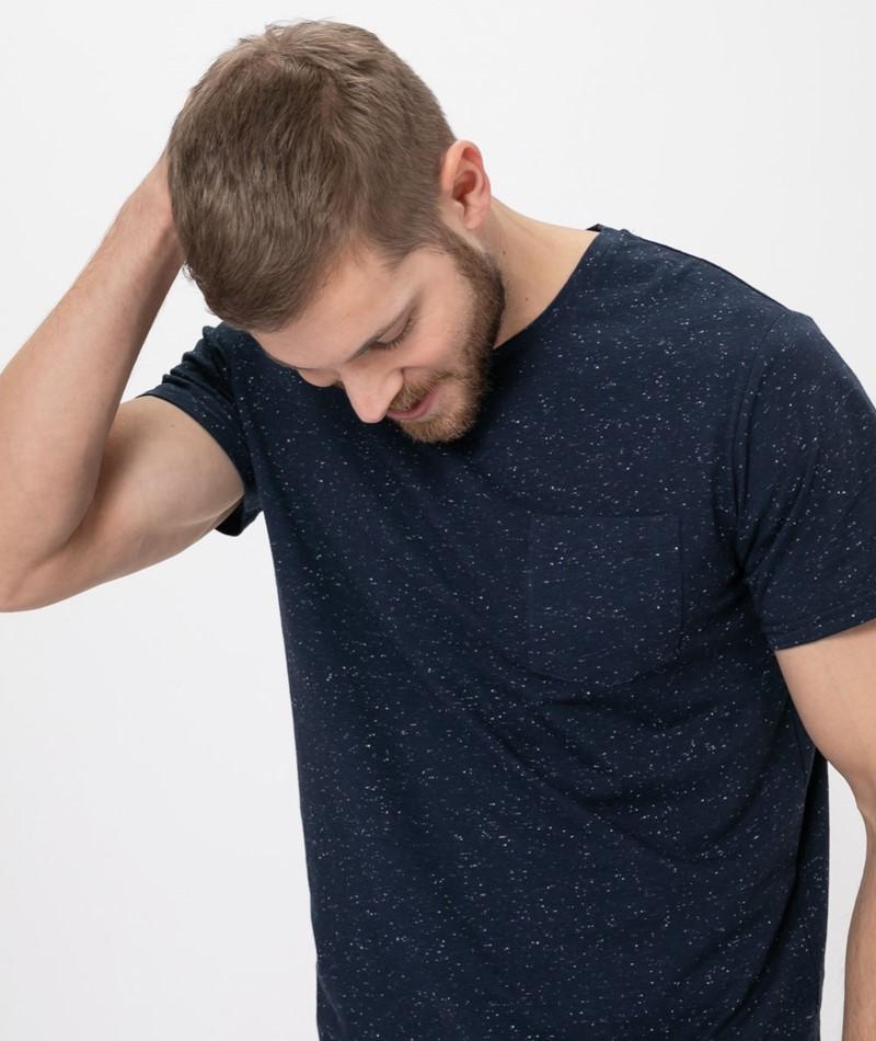 SUIT Billy T-Shirt navy blazer