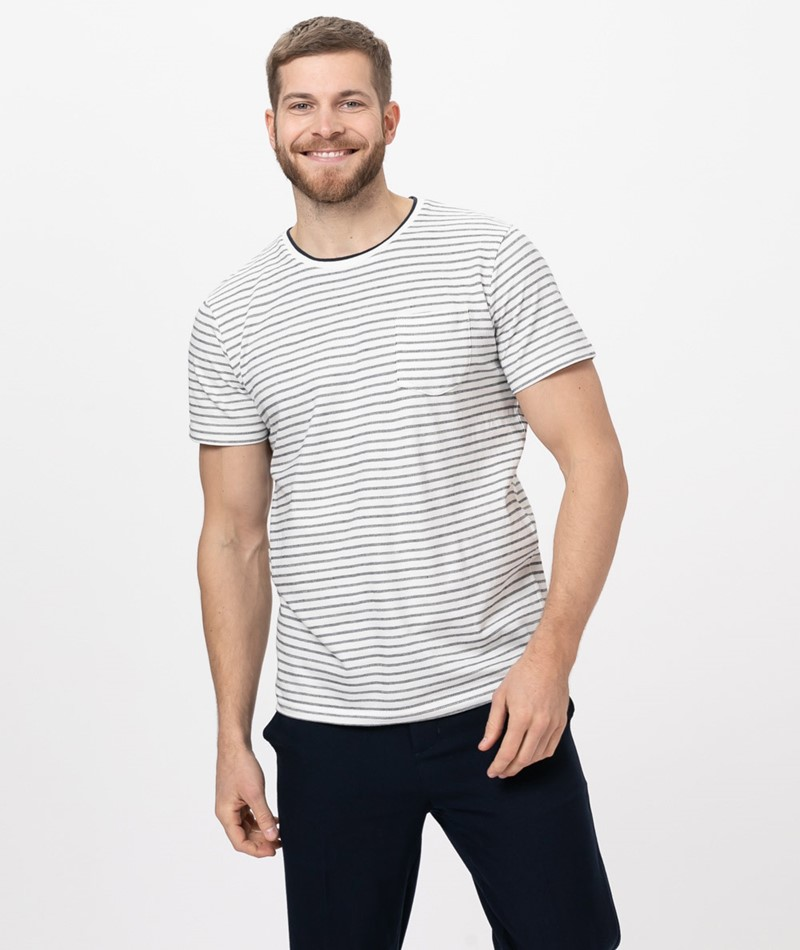 SUIT Boris T-Shirt marshmallow