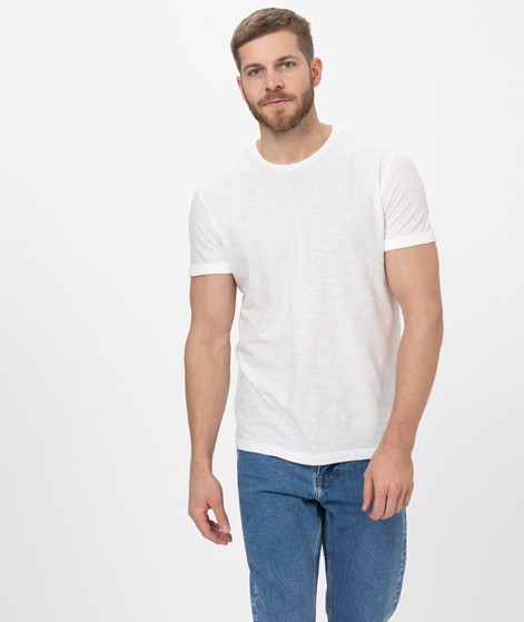 COUDRE Rolled Sleeve T-Shirt chalk