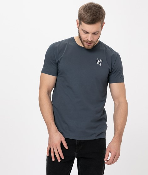 KAUF DICH GLÜCKLICH T-Shirt aqua blue
