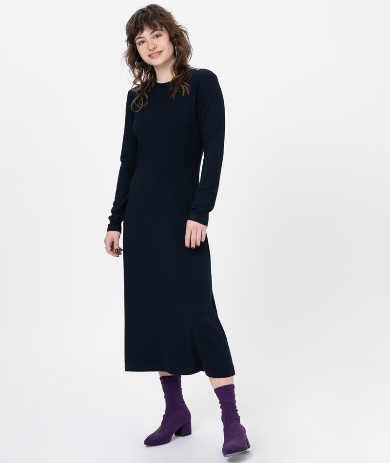 MINIMUM Nanomi Kleid navy blazer