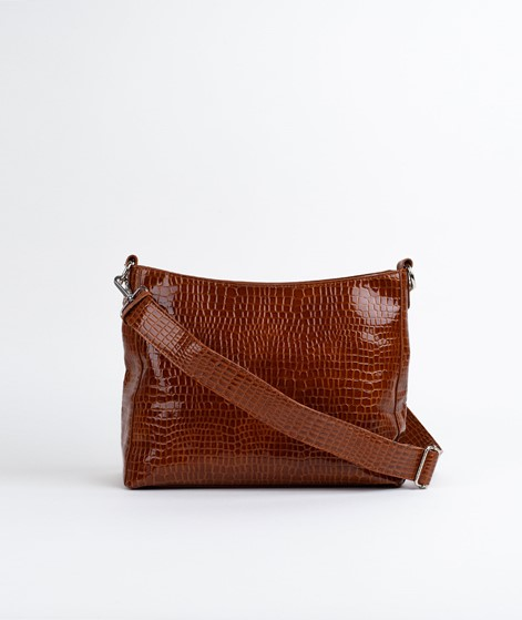 HVISK Amble Croco Shopper chocolate