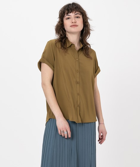 SAMSOE SAMSOE Majan SS Bluse green khaki