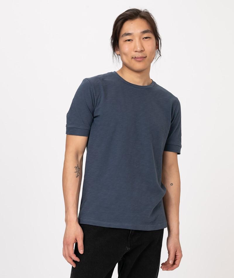 COUDRE Pure T-Shirt blue slate