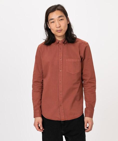 COUDRE Garment Dye Hemd rust