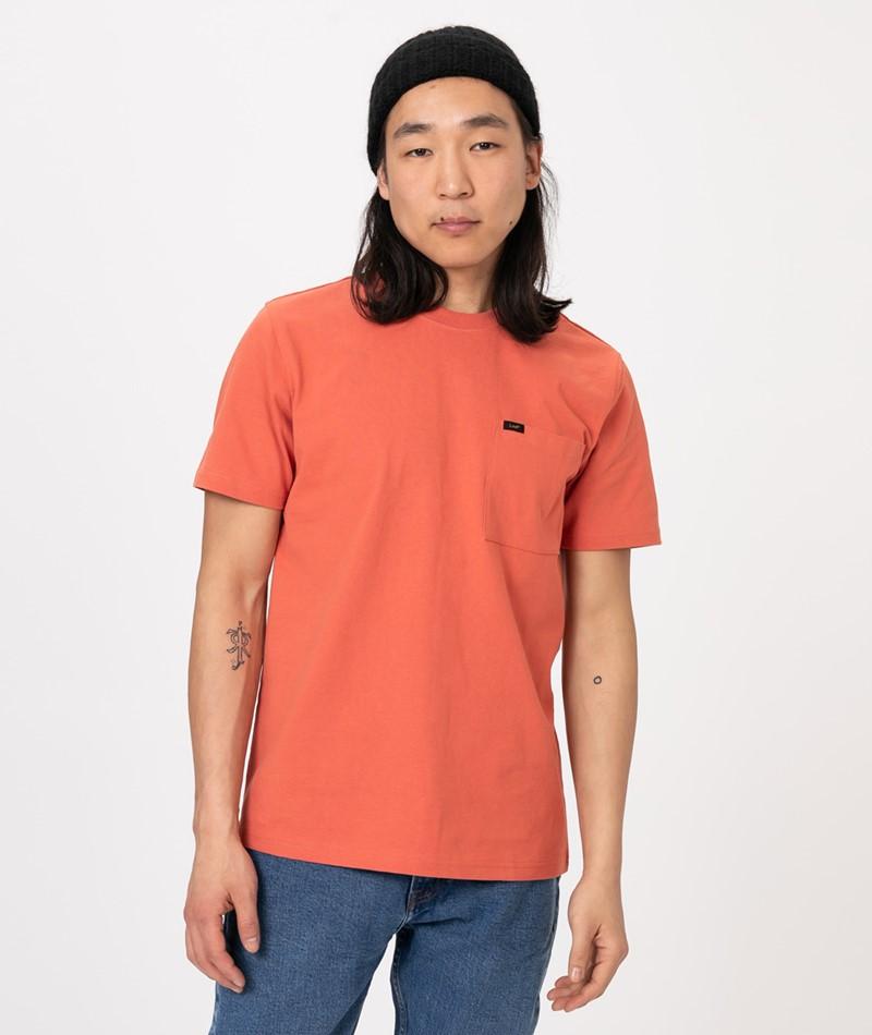 LEE SS PocketT-Shirt paprika