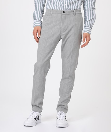NOWADAYS Slim Fit Hose grey melange
