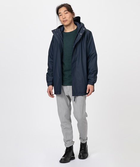 RAINS Quilted Parka blue