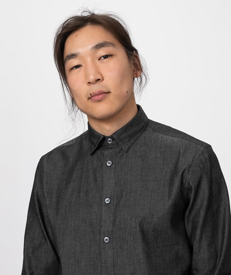 COUDRE Pure Shirt asphalt denim