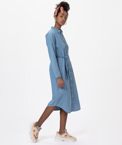 MOSS COPENHAGEN Lyanna Shirt Kleid blue
