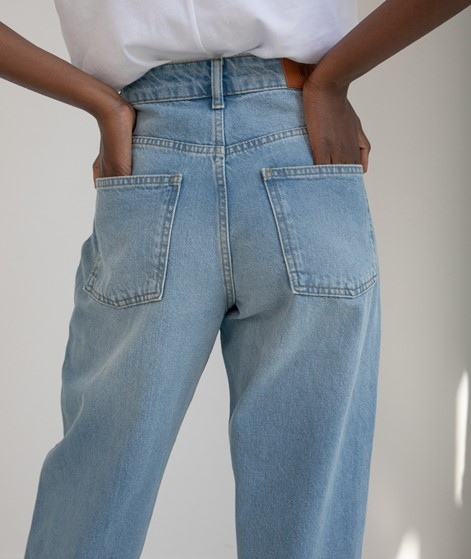 WHY7 Cristi Carrot Jeans light blue