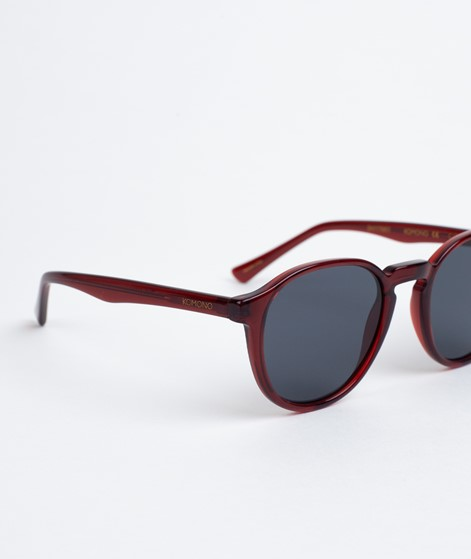 KOMONO Liam Sonnenbrille burgundy