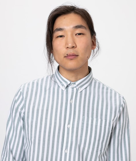 NOWADAYS Button Down Oxford Stripe Hemd