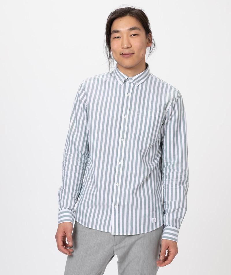 NOWADAYS Button Down Oxford Stripe Hemd