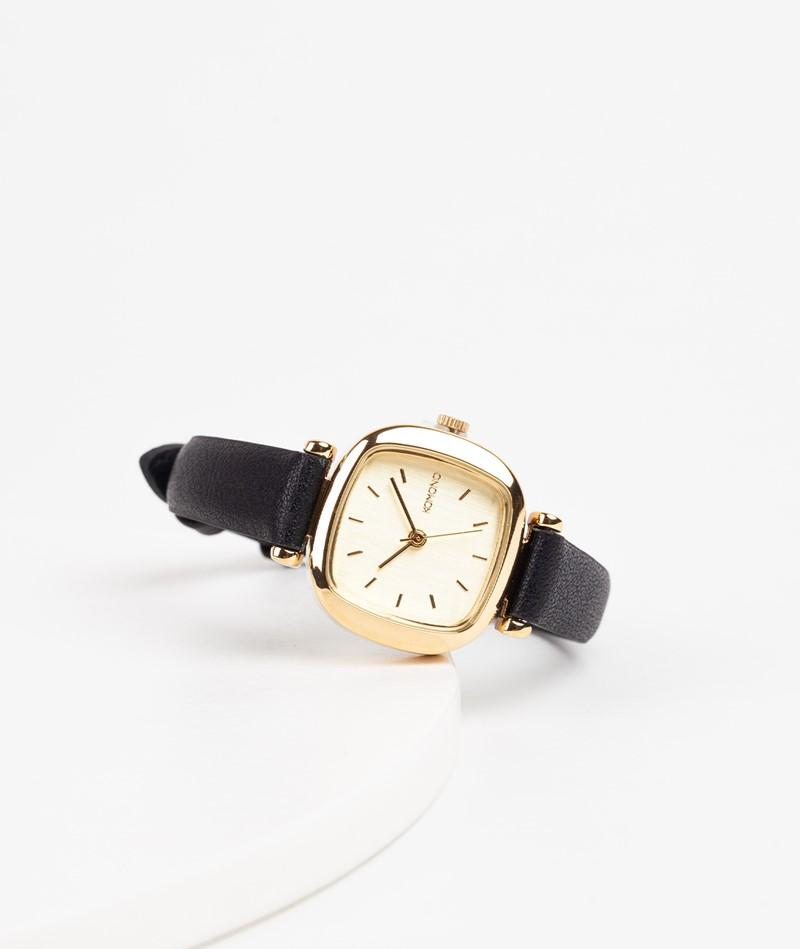 KOMONO Moneypenny Uhr gold black