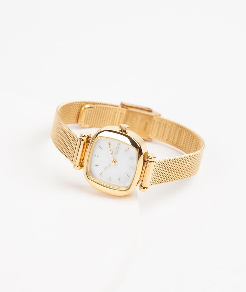 KOMONO Moneypenny Royale Uhr gold white