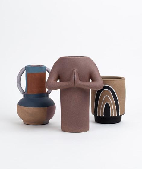 DOIY Namaste Vase braun