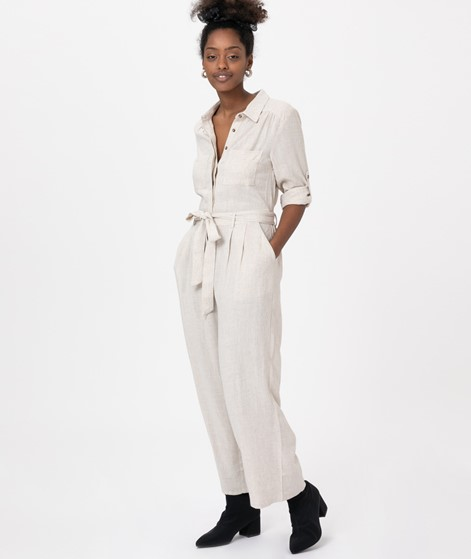 MINKPINK Linen Boilersuit Overall
