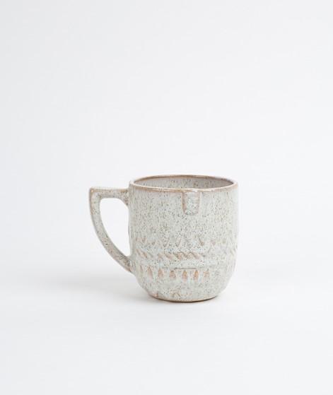 MADAM STOLTZ Stoneware Mug w/ Face