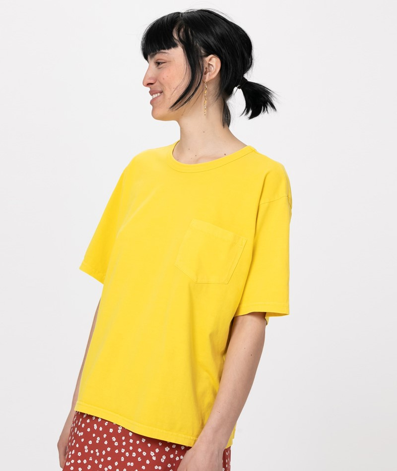 MINIMUM Shara T-Shirt primrose yel