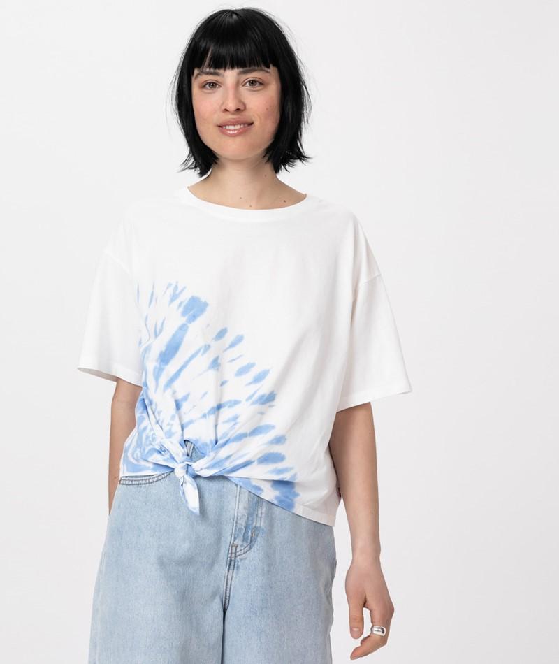 LEVIS Luna Knot T-Shirt large tie marina
