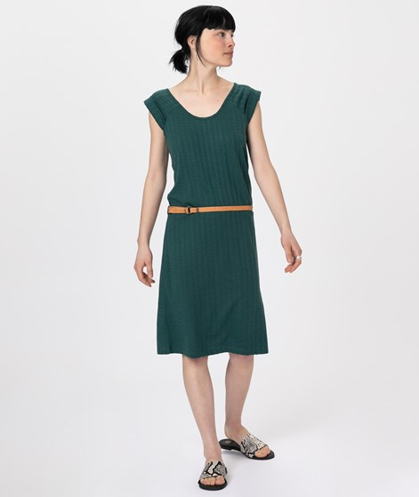 SESSUN Rainbowjaquard Kleid june green