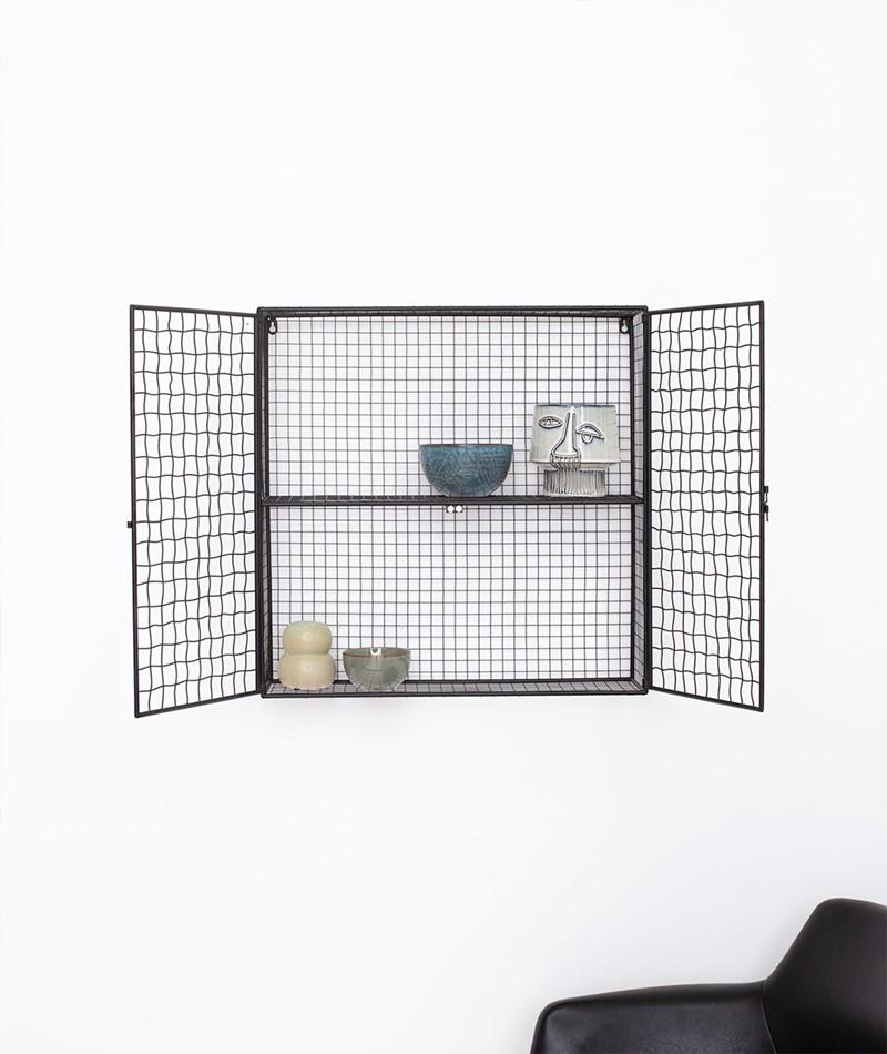 BLOOMINGVILLE Inez Display box schwarz