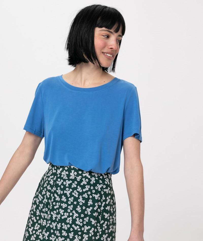 MINIMUM Rynah T-Shirt palace blue