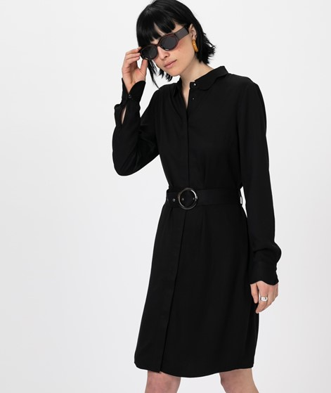 ANOTHER LABEL Peri L/S Kleid black