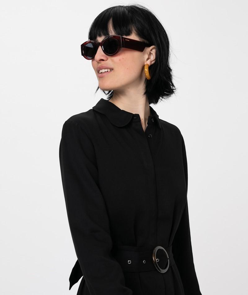 ANOTHER LABEL Peri L/S Kleid black