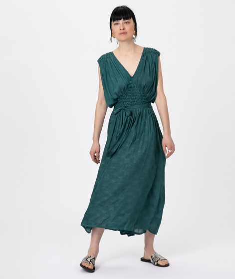 SESSUN Ava Kleid june green