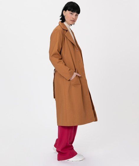 MOSS COPENHAGEN Angela Trench Coat brown