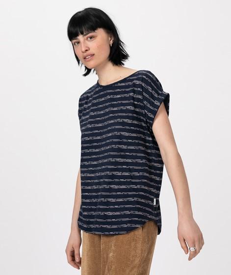 WEMOTO Holly Printed T-Shirt navy/white