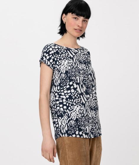 WEMOTO Melvin Printed T-Shirt blue-white