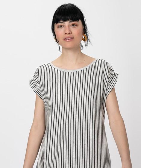 WEMOTO New Kano Striped Kleid sand-black