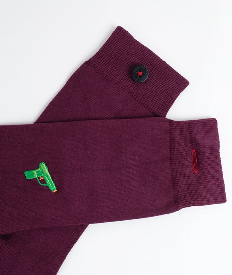 A-DAM Appie Socken bordeaux