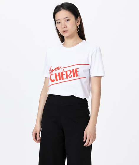 WOMOM Mom Cherie T-Shirt weiß
