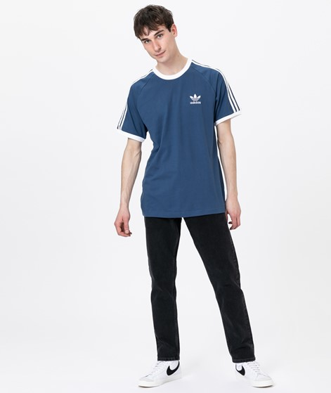 ADIDAS 3-Stripes T-Shirt night marine