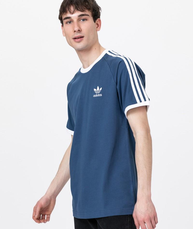 ADIDAS 3-Stripes T-Shirt night marine